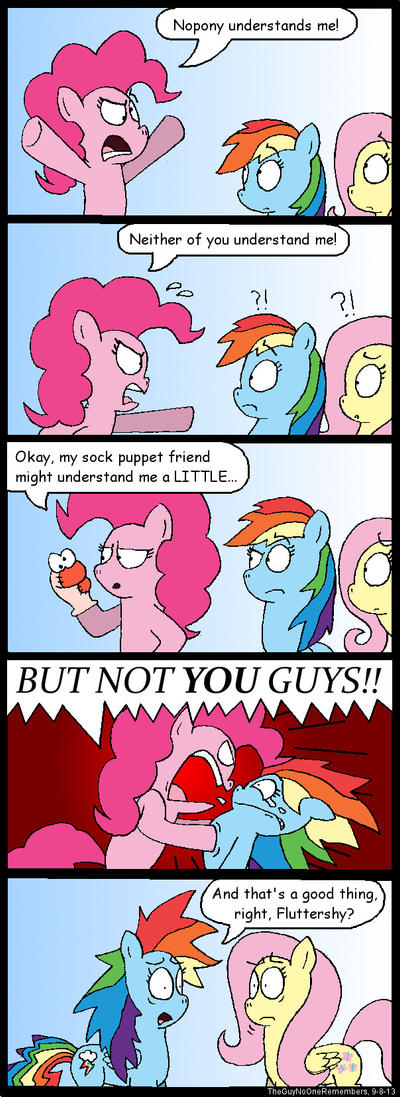 Pinkie Pie is Misunderstood by TheGuyNoOneRemembers