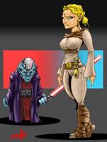 Jedi_Sith_DAC by bigMdesign