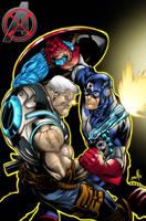 avengers x sanction by bigMdesign