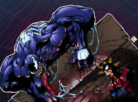 Venomous by Eddie Nunez inks/colors by bigMdesign by bigMdesign