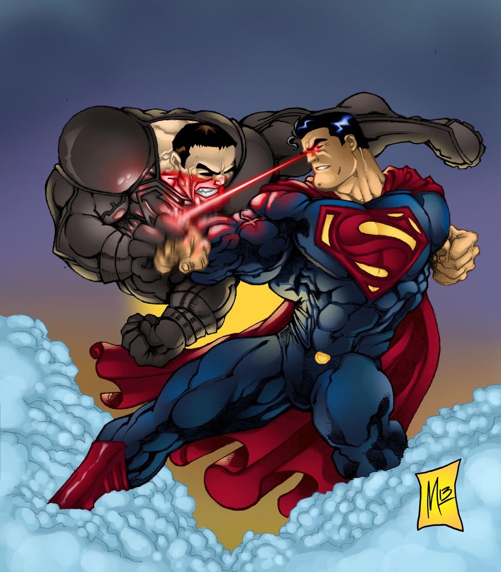 Superman Vs. Zod By BigMdesign On DeviantArt
