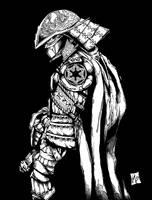 Samurai Vader .:INKS:. by bigMdesign