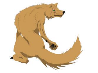 Beast design, twin scar. by WhiteDragonPictures