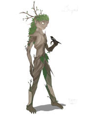 Dryad by WhiteDragonPictures