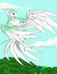 Gale the sirin by WhiteDragonPictures