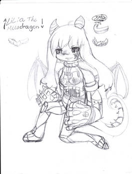 Lilia the dragon