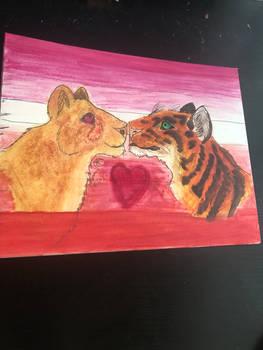 Lesbian big cats