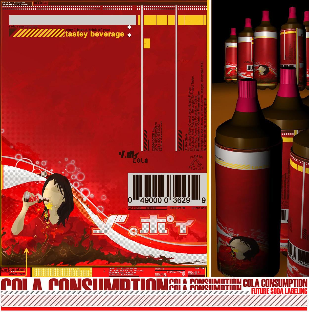 Cola Consumption by zulu-eos