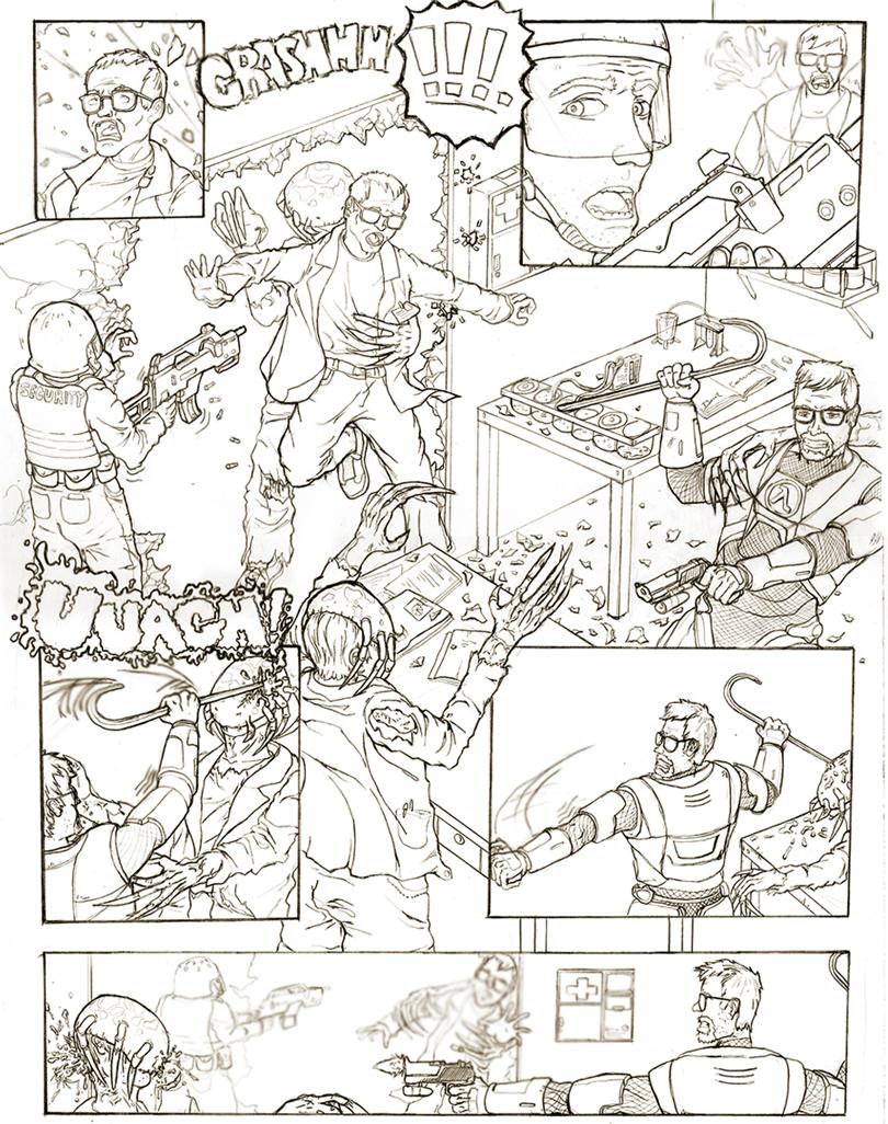 Half Life Storyboard by zulu-eos