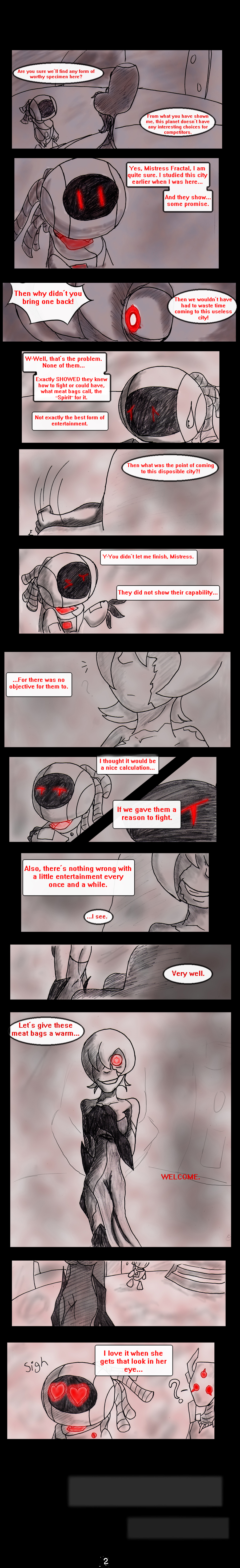 Ebon Spire Audition - Pg 2 by SonicHearts