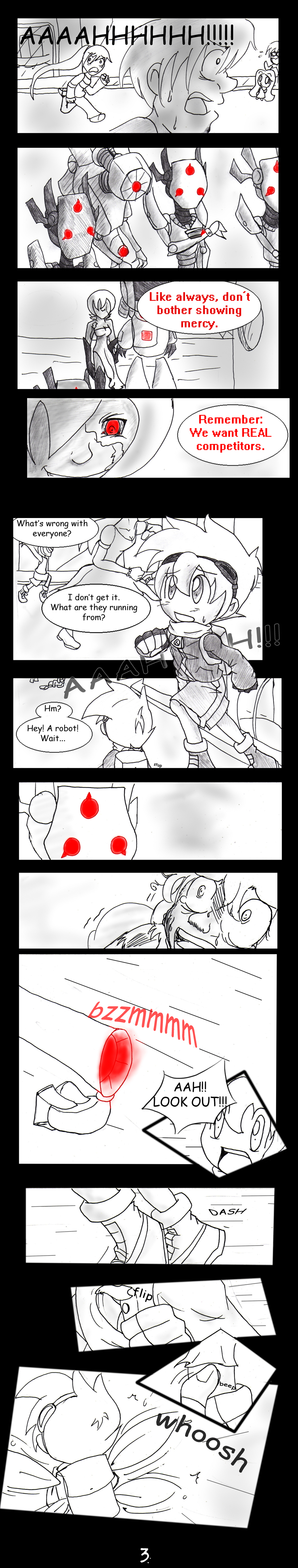 Ebon Spire Audition - Pg 3 by SonicHearts