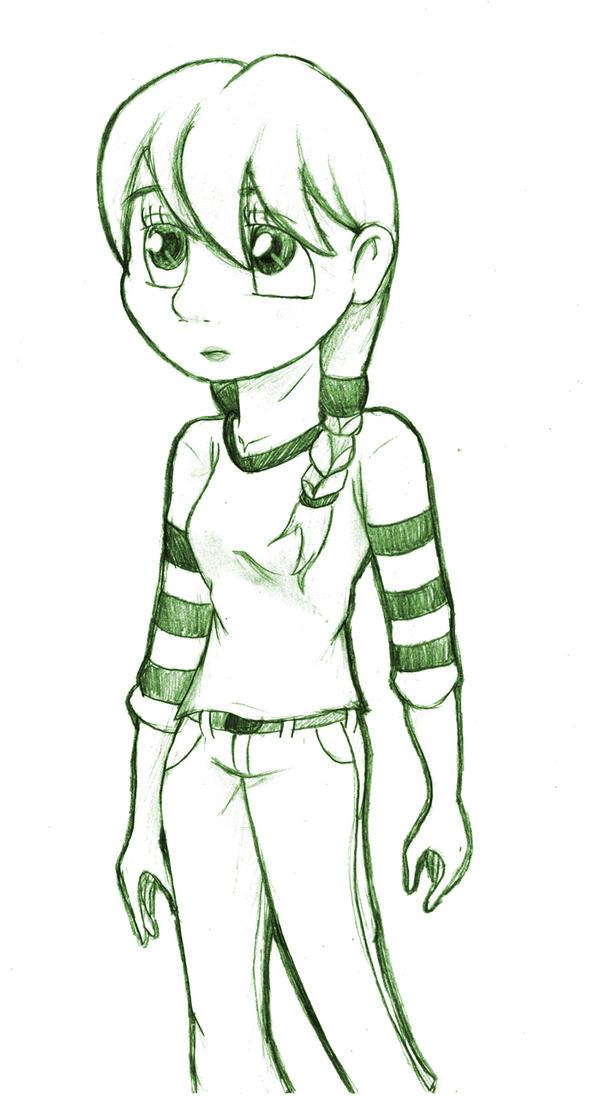 Quiet Little Girl by SonicHearts