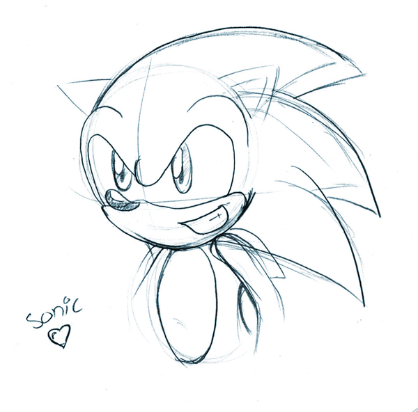 Sonic luv by SonicHearts