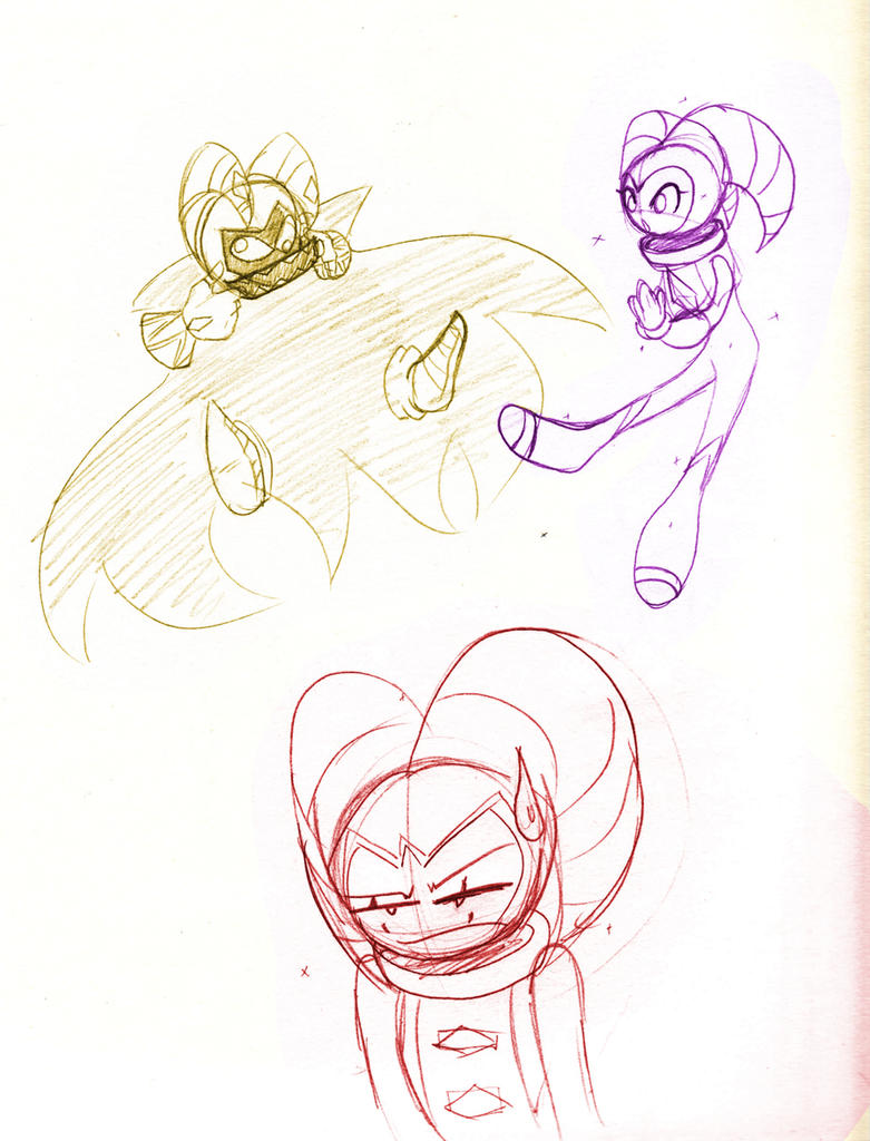 Silly Marens by SonicHearts