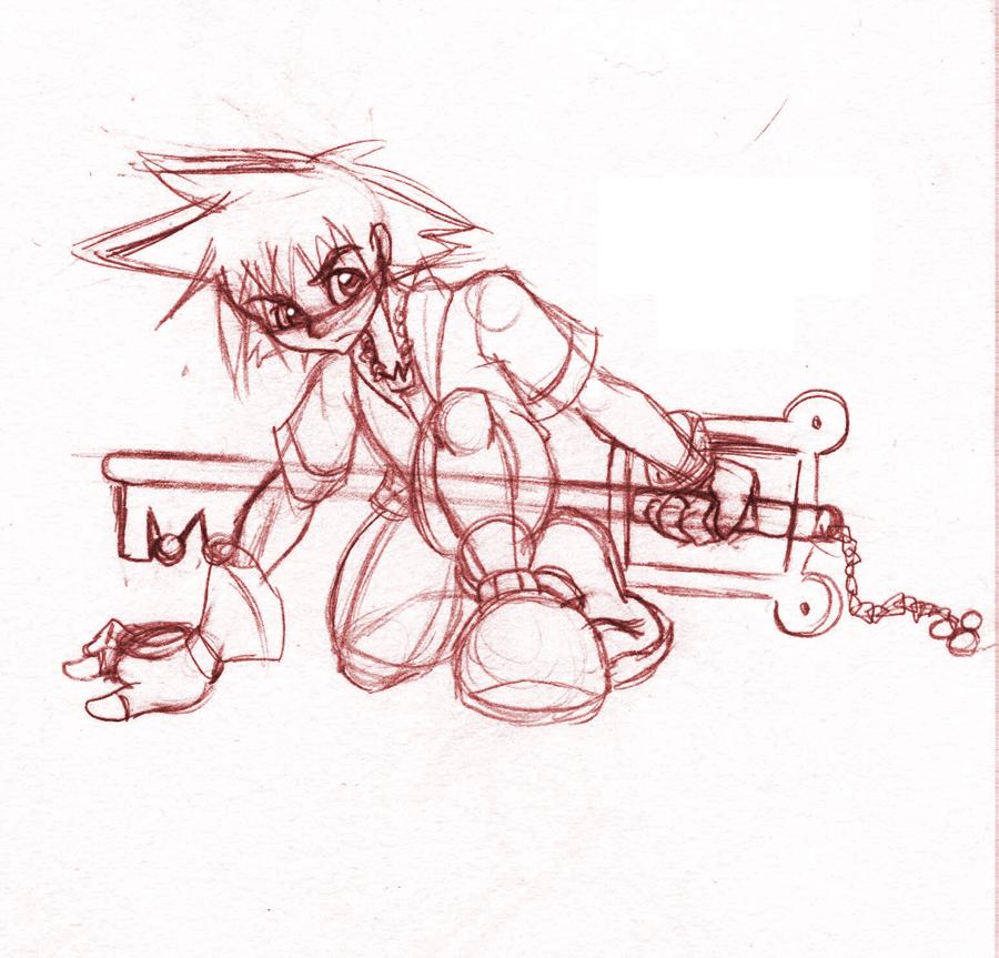 Sora.:Sketch:. by SonicHearts