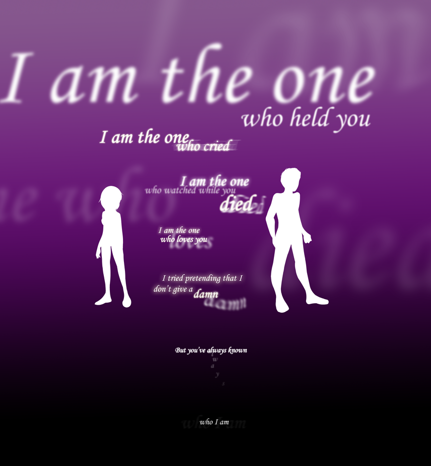 I am the One... by SonicHearts