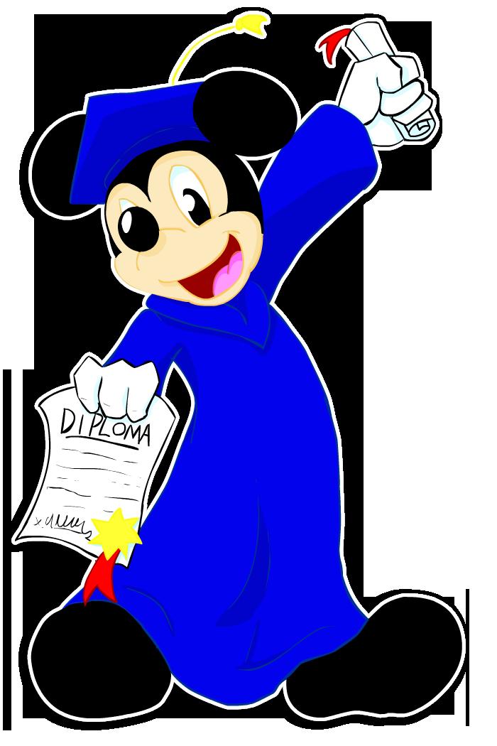.Grad.Mickey. by SonicHearts