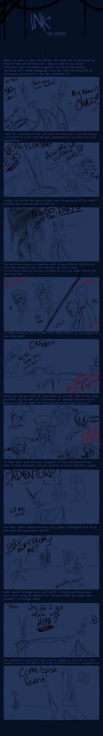 INK OCT Meme: Fred+Lucu by SonicHearts