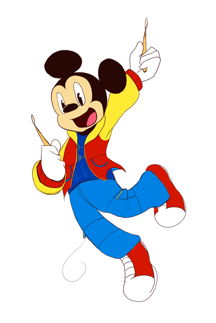Sational Mickey by SonicHearts