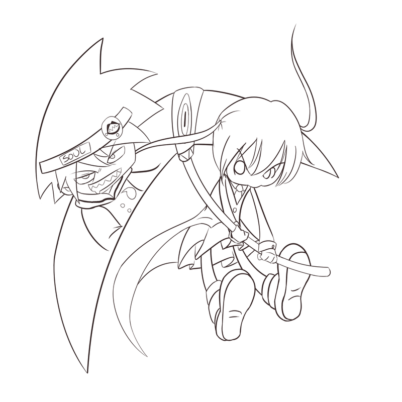 WIP - Witch Hunter Chibi by SonicHearts