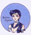 Sailor Star Fighter by KaoriKonran