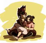 Zuzu with Kiyi