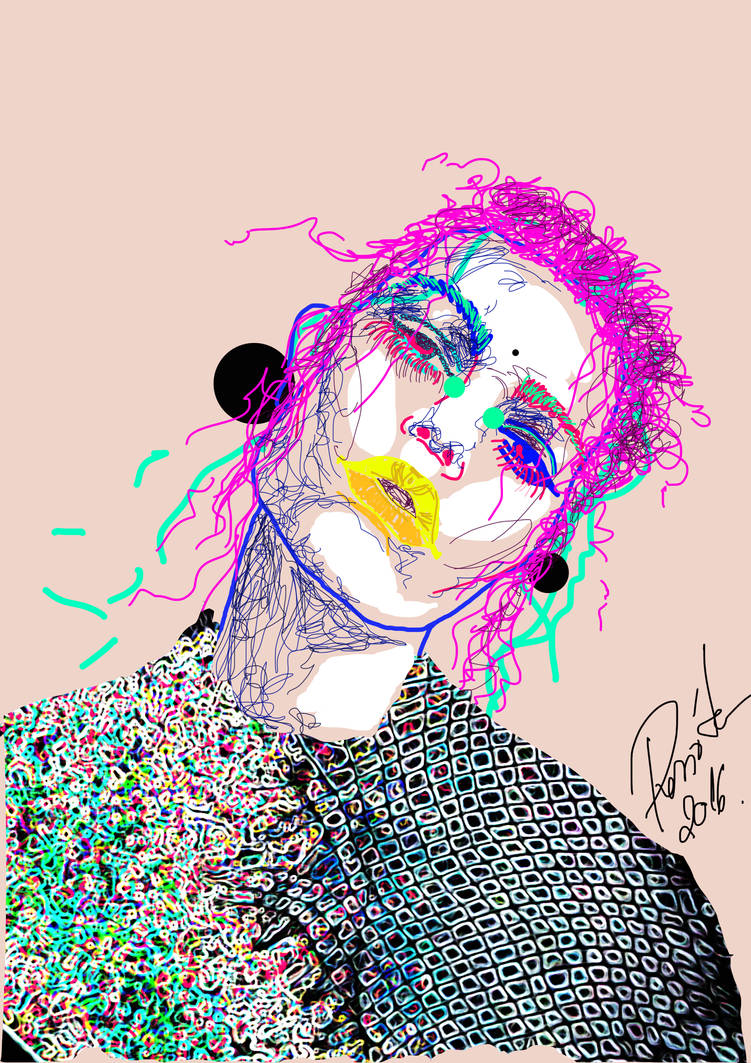 Fashion Illustration-Lines by Renny222