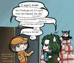 The Joker ... and his fans ...