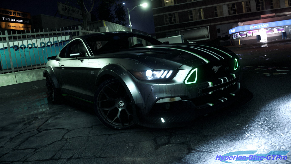 2015 Mustang Stripes >> Ford Mustang is ready for NFS Payback by Hyperion-Blue-GTPro on DeviantArt