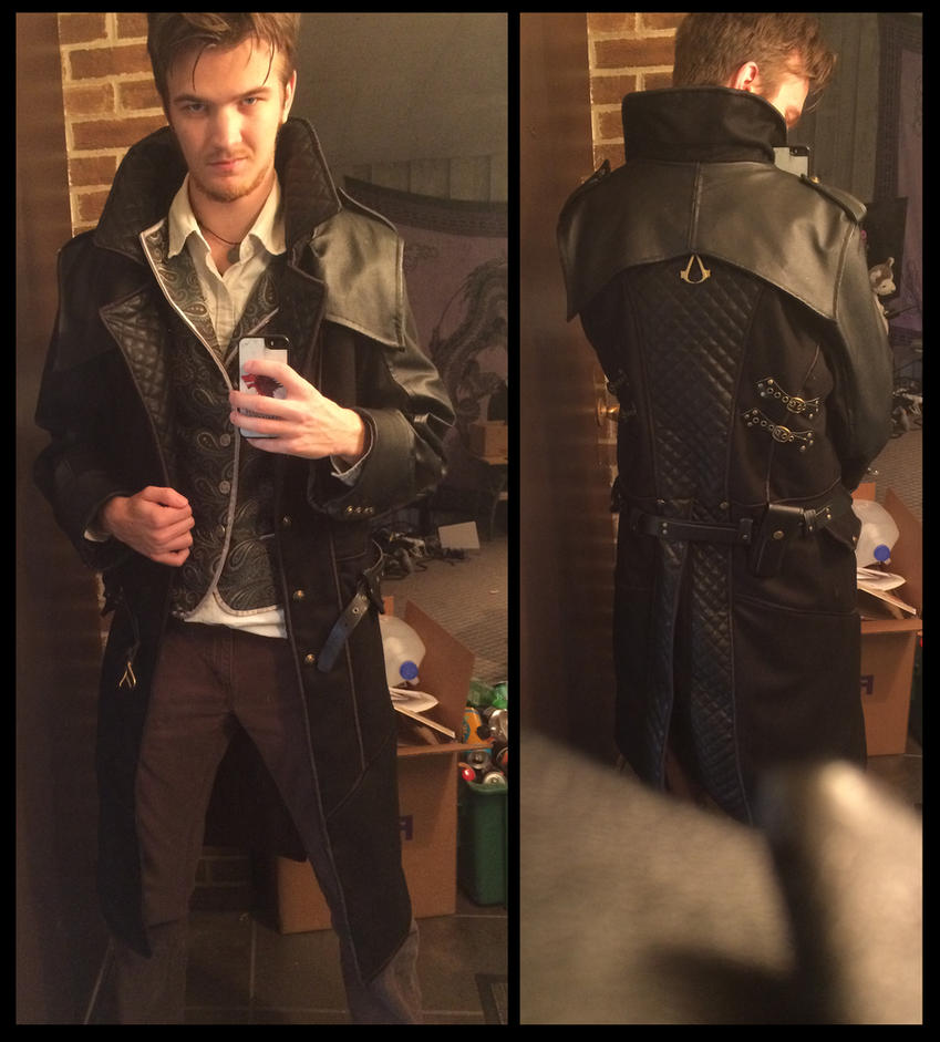 Wip My Assassin S Creed Syndicate Jacob Frye Cosplay So Far