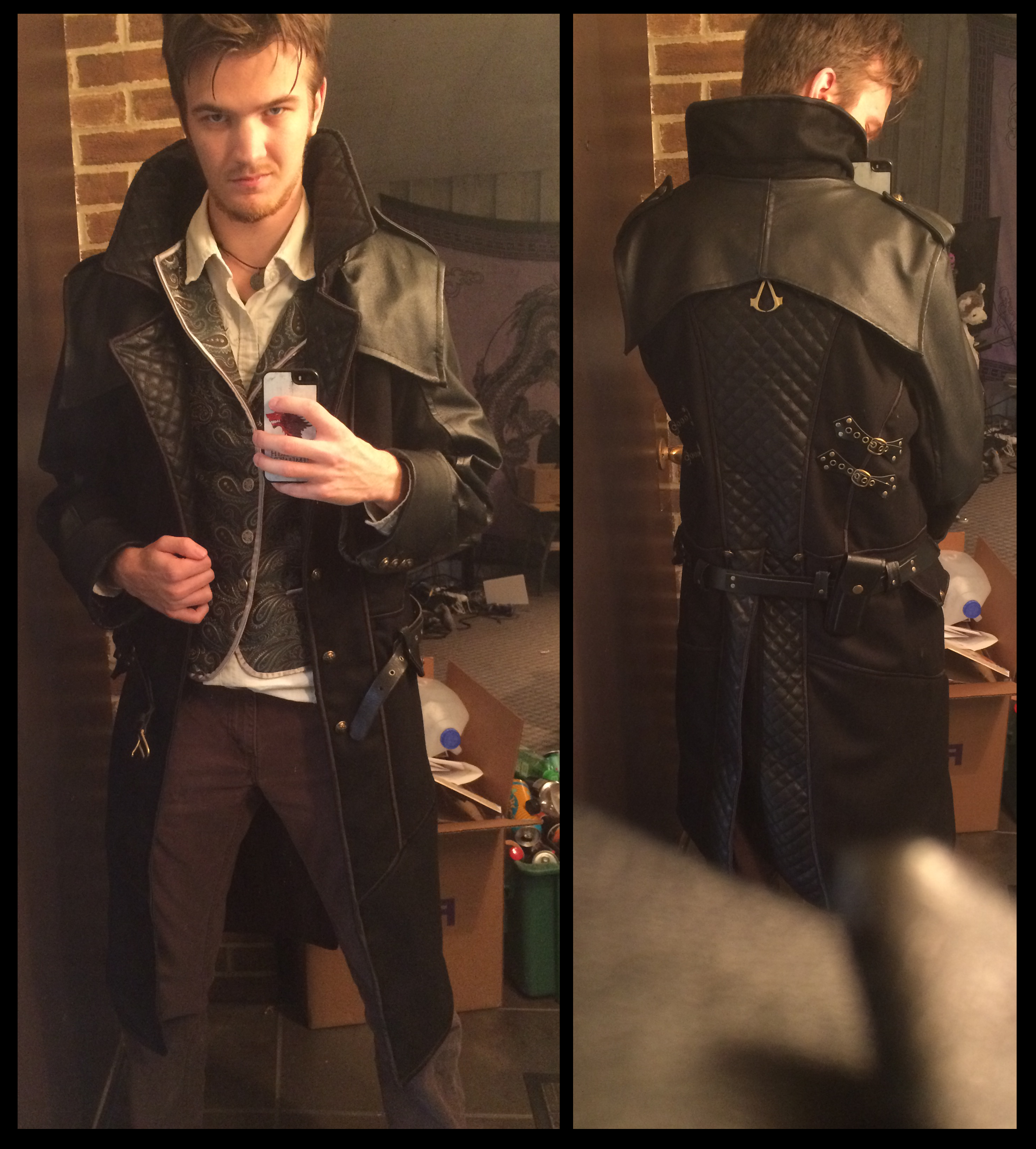 Jacob Frye Coat Assassin S Creed Syndicate By Timeywimey 007 On