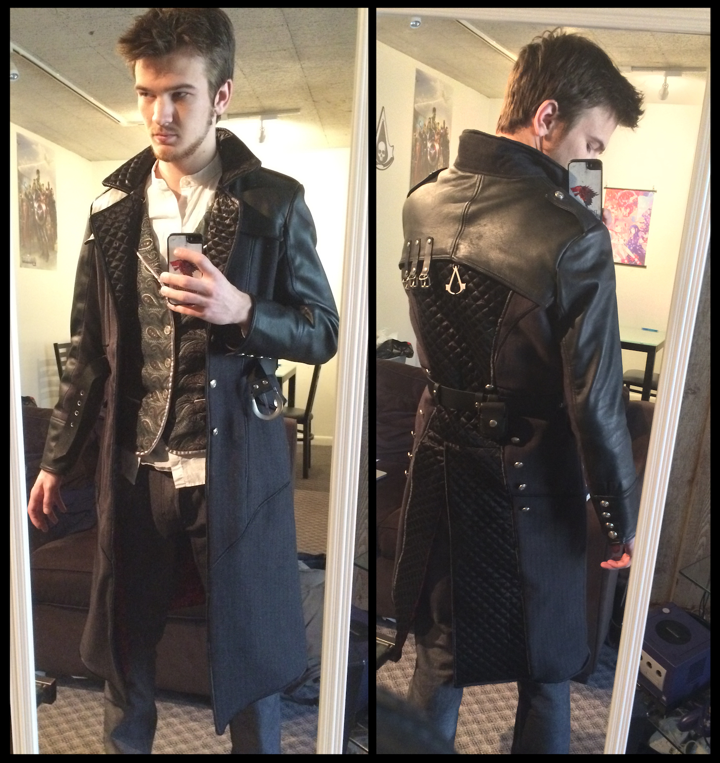 Assassin S Creed Jacob Frye Cosplay Coat 2 0 By Timeywimey 007 On