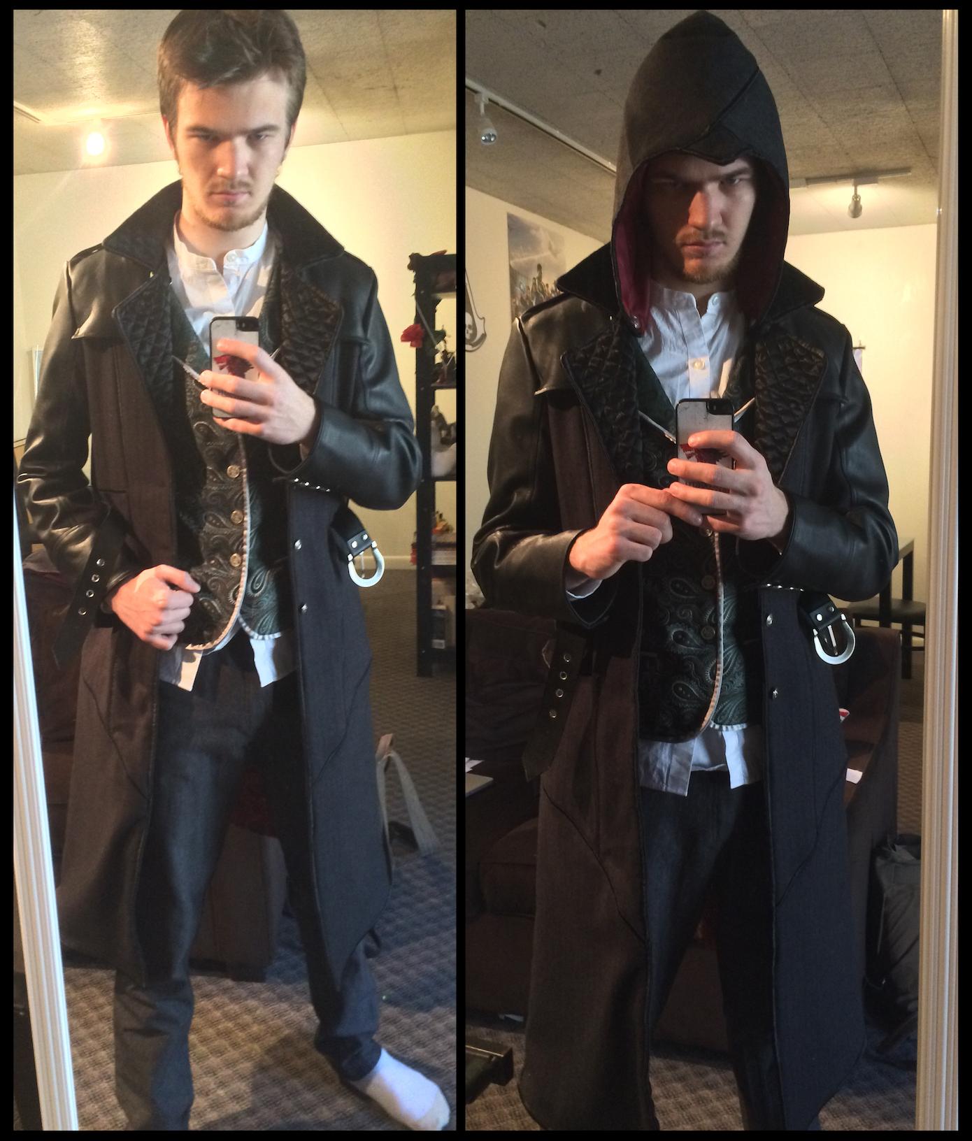 Assassin S Creed Cosplay Jacob Frye Coat 2 0 Hood By Timeywimey