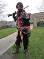 The Hunter (Assassin's Creed Rogue Shay cosplay) by TimeyWimey-007