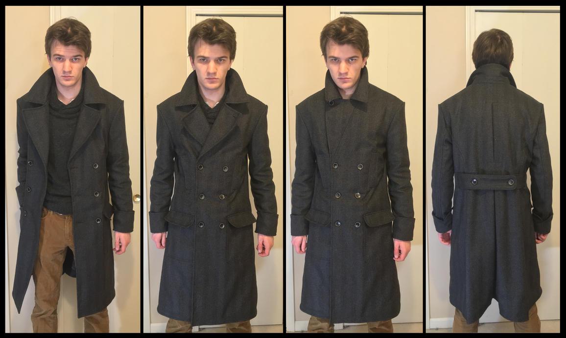 Belstaff Milford/Sherlock-inspired wool coat by TimeyWimey-007