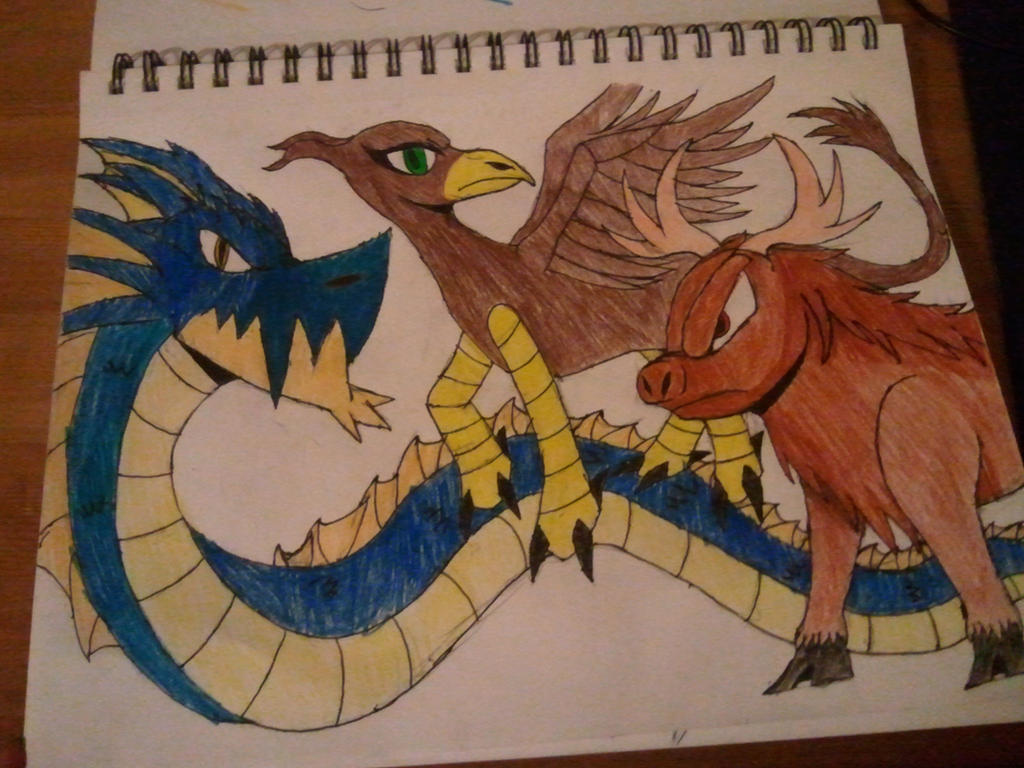 Monster Mansion: Primordial Monsters by SleeplessNight10