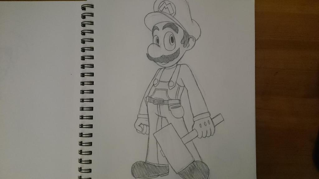 Super Mario Bros. Omega: Mario by SleeplessNight10