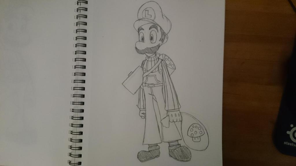 Super Mario Bros. Omega: Luigi by SleeplessNight10