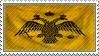 Byzantine Empire Stamp by Fraztov