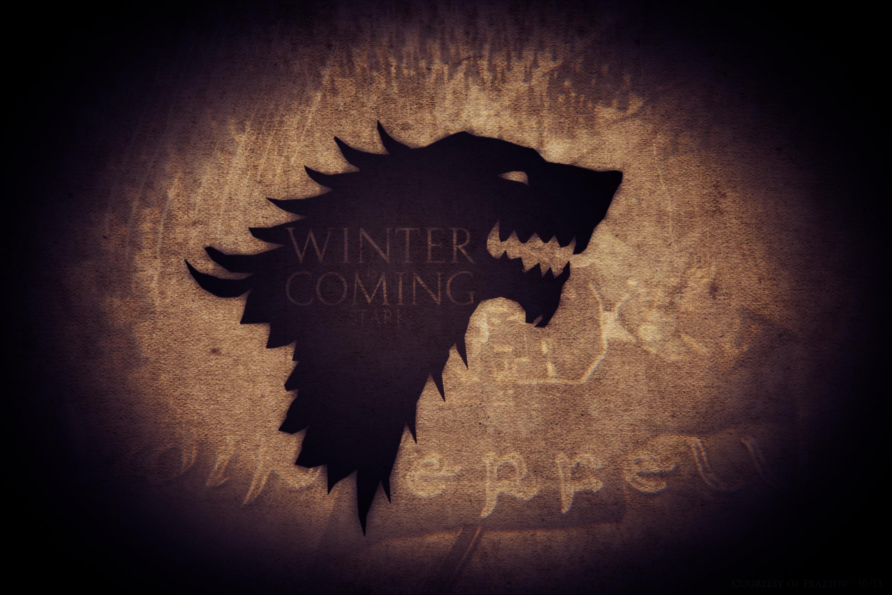 Game Of Thrones Stark Wallpaper By Fraztov On Deviantart