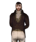 Francois Charleville Portrait (Alpha Version) by Fraztov