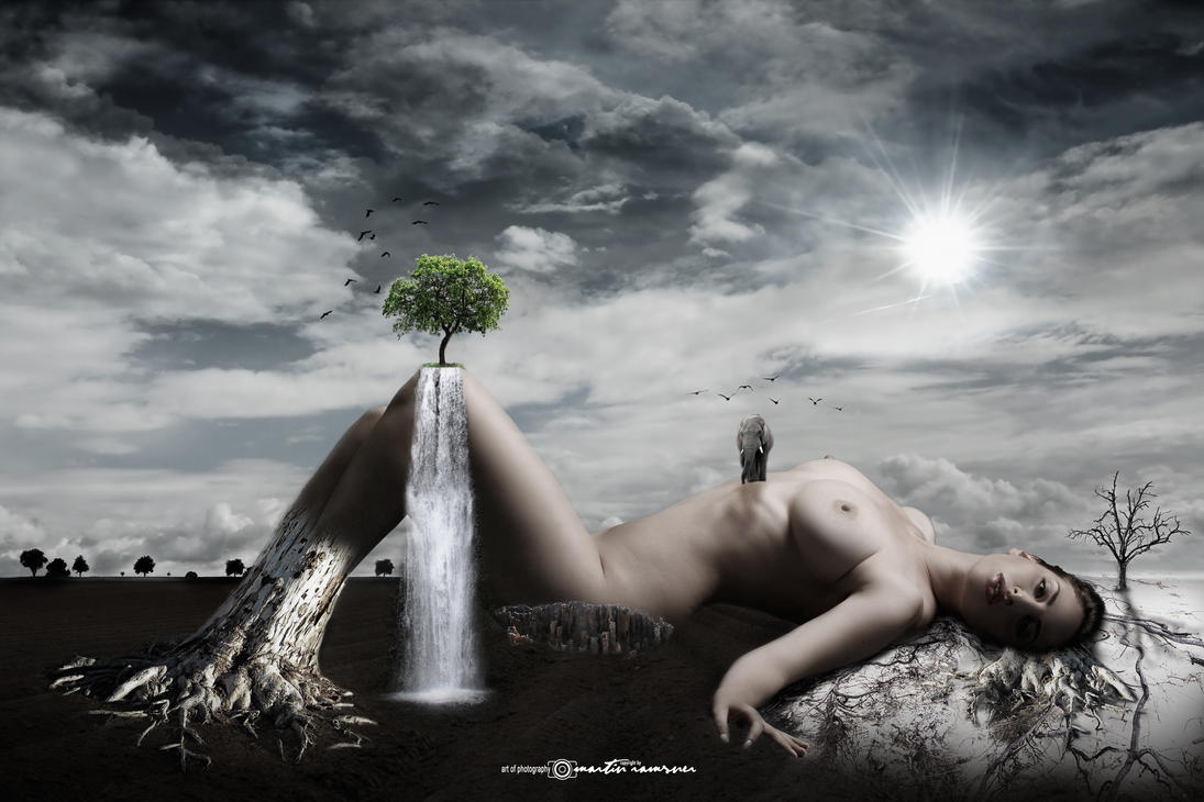 The Last Tree - Mother Earth by artofphotograhy