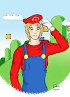 It's-a-me, Link by Chisou