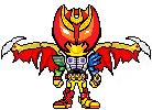 Kamen Rider Kiva Vampir by ngjovan