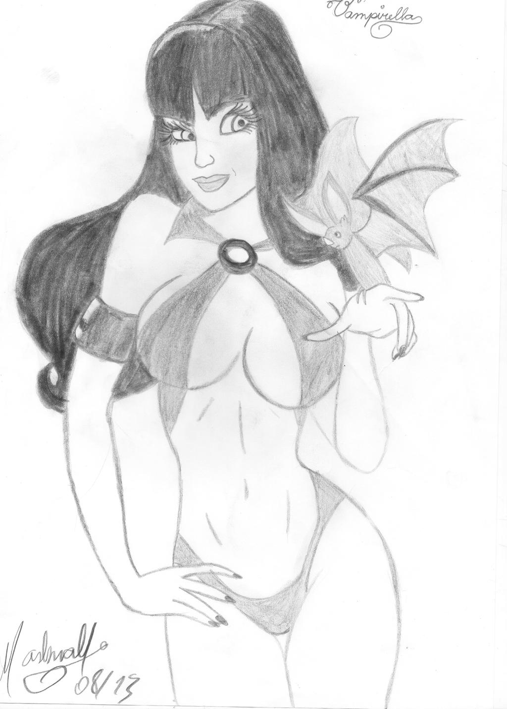 Pin Up Vampirella by darvinha