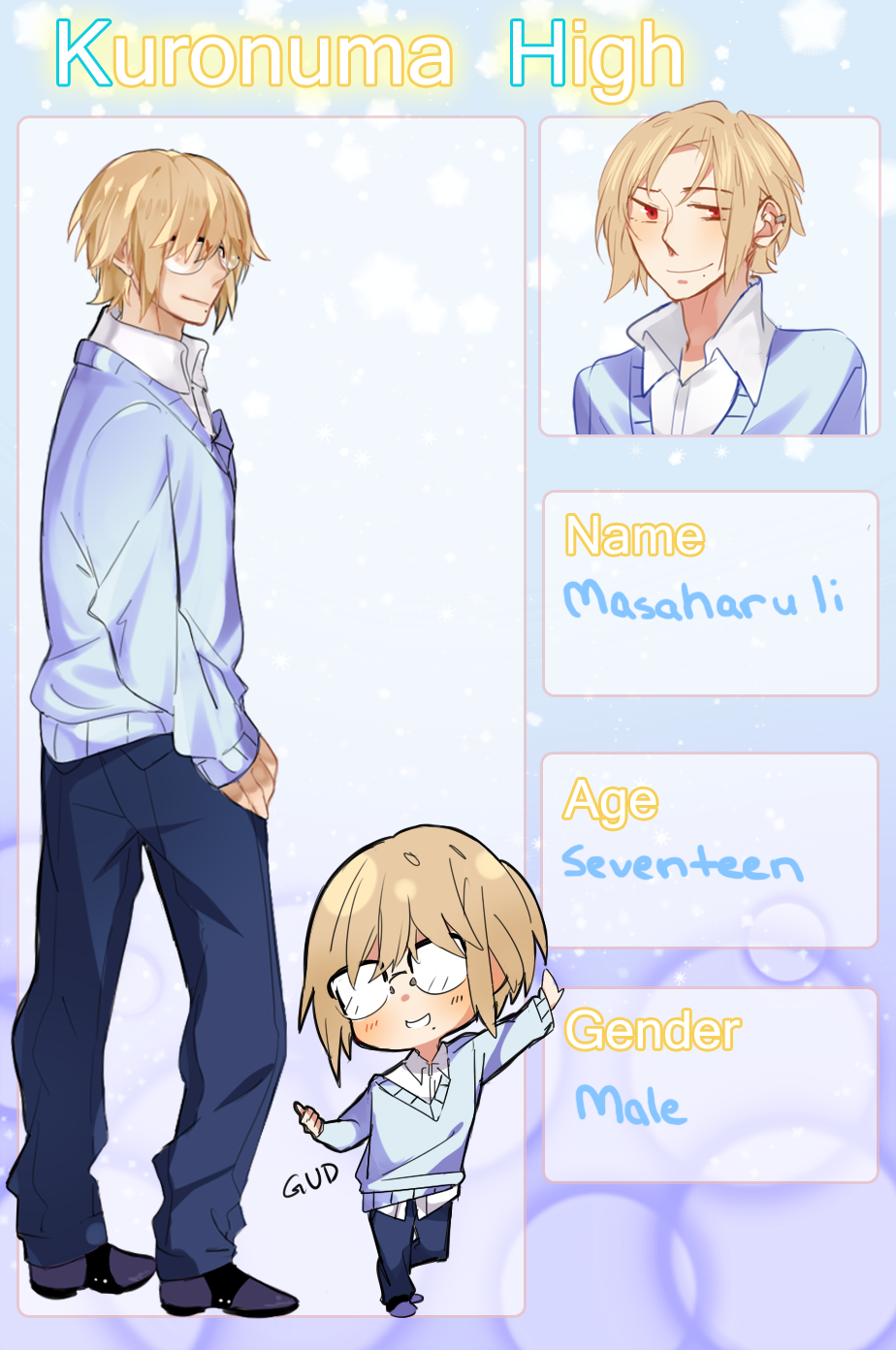 KH: Masaharu Ii by Renn-kun