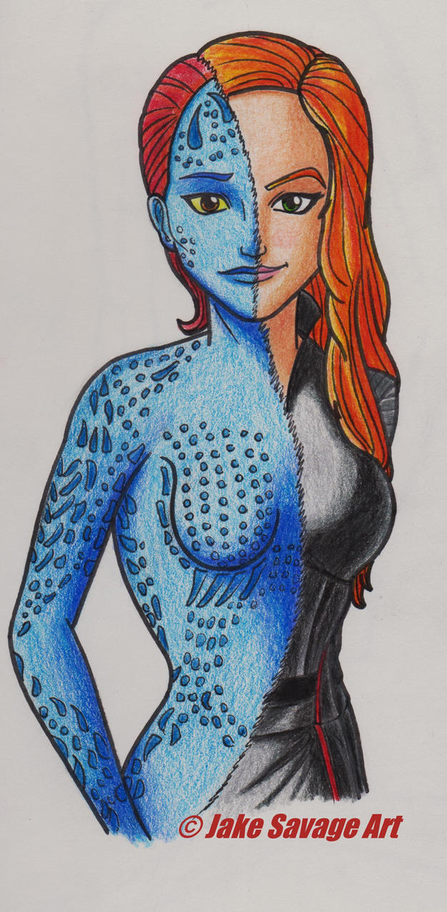 Mystique by Fires-storm