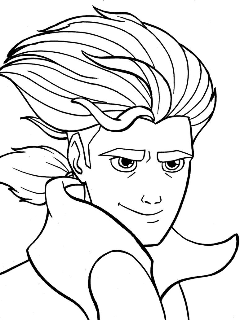 Jim Hawkins Coloring Page by Fires-storm