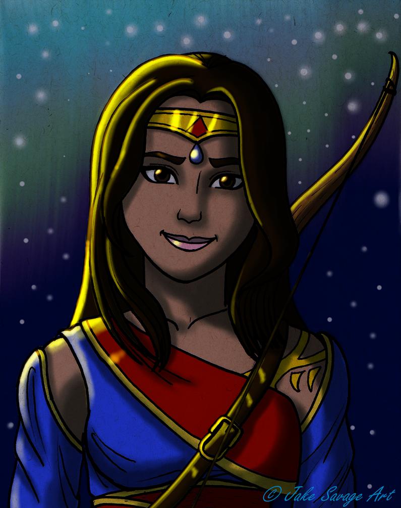 Adila, King's Ranger by Fires-storm