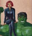 Hulk and Blackwidow
